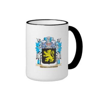Van-Den-Peereboom Coat of Arms - Family Crest Ringer Mug