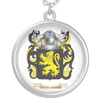 Van den Peereboom Family Crest (Coat of Arms) Pendant