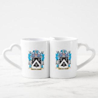 Van-Den-Velde Coat of Arms - Family Crest Couples Mug