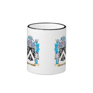 Van-Den-Velde Coat of Arms - Family Crest Ringer Mug