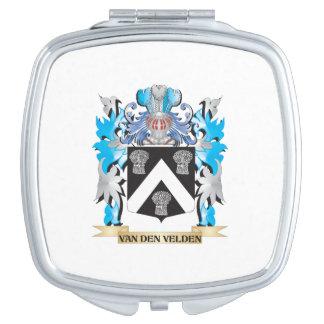 Van-Den-Velden Coat of Arms - Family Crest Travel Mirrors