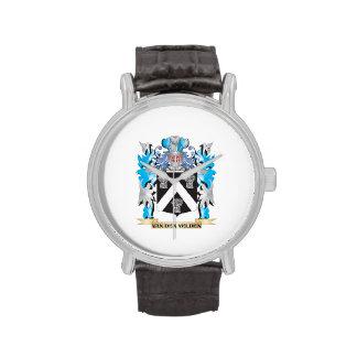Van-Den-Velden Coat of Arms - Family Crest Watches