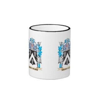 Van-Den-Velden Coat of Arms - Family Crest Ringer Mug