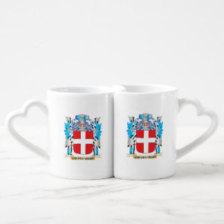 Van-Den-Veldt Coat of Arms - Family Crest Lovers Mug Sets