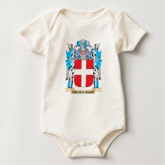 Van-Den-Veldt Coat of Arms - Family Crest Bodysuits