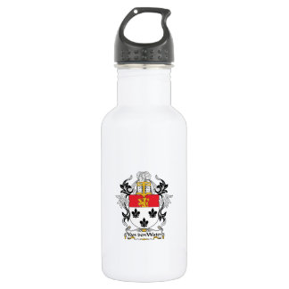 Van den Water Family Crest 532 Ml Water Bottle