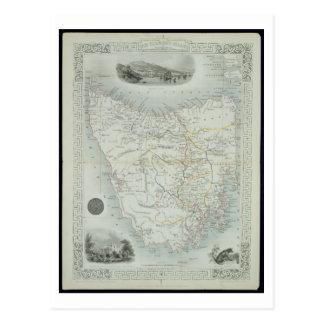 Van Diemen's Island or Tasmania, from a Series of Postcard