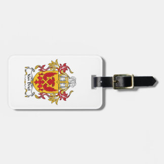Van Driel Family Crest Luggage Tag