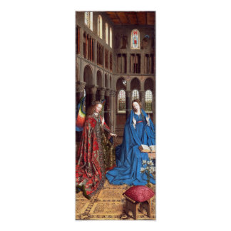 Van Eyck: The Annunciation Poster
