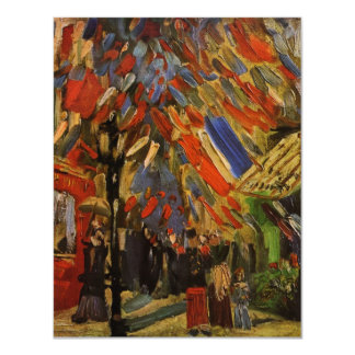 Van Gogh; 14th of July Celebration in Paris Card