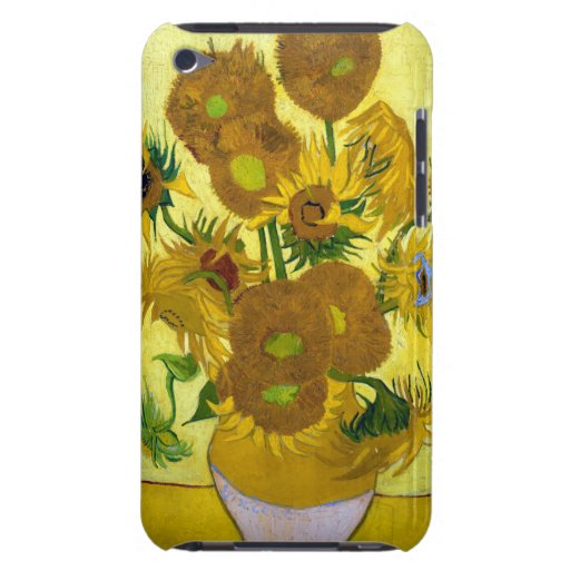 Van Gogh 15 Sunflowers Barely There iPod Cover