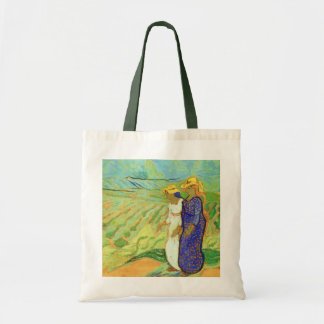 Van Gogh, 2 Women Crossing Fields, Vintage Friends