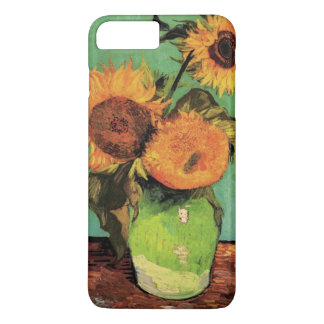 Van Gogh 3 Sunflowers in a Vase Vintage Fine Art iPhone 8 Plus/7 Plus Case