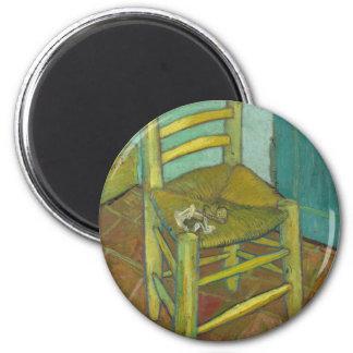 Van Gogh 6 Cm Round Magnet