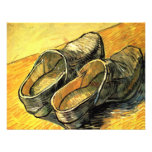 Van Gogh; A Pair of Leather Clogs Personalised Announcements
