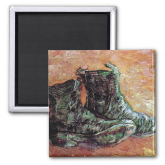 Van Gogh - A Pair Of Shoes Refrigerator Magnet