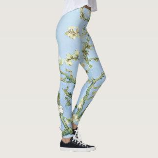 Van Gogh Almond Blossoms Leggings