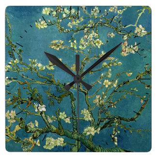 Van Gogh Almond Blossoms Timepiece Wall Clocks