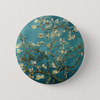 Van Gogh Almond Branches In Bloom 6 Cm Round Badge