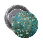 Van Gogh Almond Branches In Bloom 6 Cm Round Badge