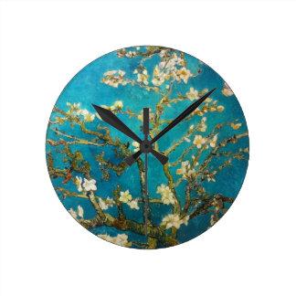 Van Gogh Almond Tree Wall Clock