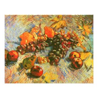 Van Gogh Apples Pears Lemons Grapes (F382) 21.5 Cm X 28 Cm Flyer