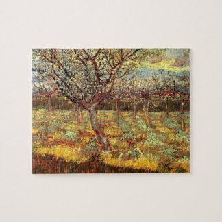 Van Gogh Apricot Tree in Blossom, Vintage Fine Art Jigsaw Puzzle