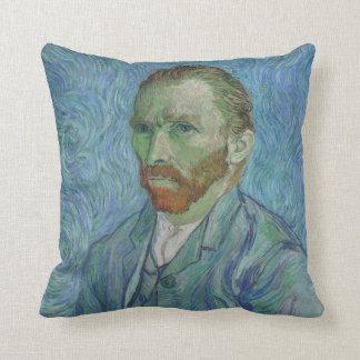 Van Gogh art cushion, self portrait Cushion