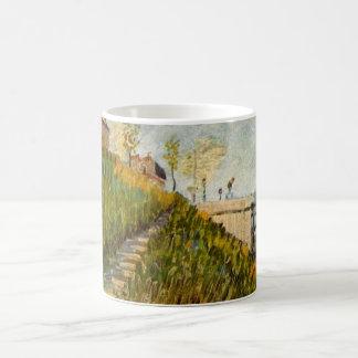 Van Gogh Banks of the Seine with Pont de Clichy Coffee Mug