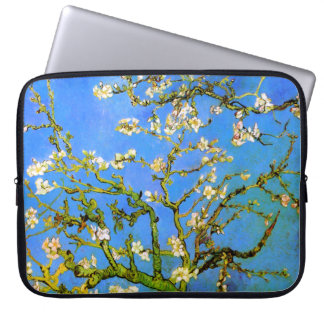 Van Gogh: Blossoming Almond Tree Branches Laptop Sleeve