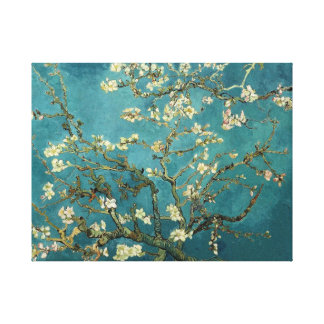 Van Gogh Blossoming Almond Tree Canvas Canvas Print