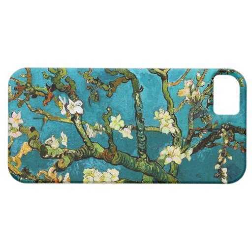 Van Gogh Blossoming Almond Tree (F671) Fine Art iPhone 5 Covers