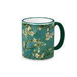 Van Gogh Blossoming Almond Tree (F671) Fine Art Ringer Mug