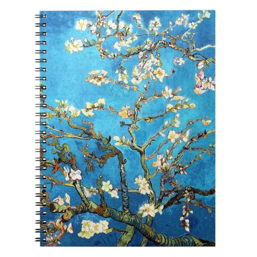 Van Gogh Blossoming Almond Tree (F671) Fine Art Journals