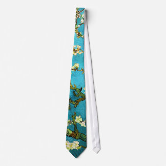 Van Gogh Blossoming Almond Tree (F671) Fine Art Tie