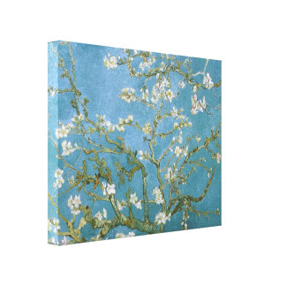 Van Gogh Blossoming Almond Tree Fine Art Gallery Wrap Canvas