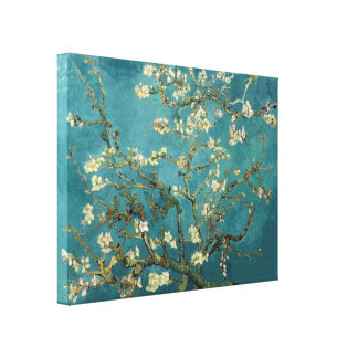 Van Gogh - Blossoming Almond Tree Gallery Wrap Canvas