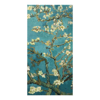 Van Gogh - Blossoming Almond Tree Personalised Photo Card