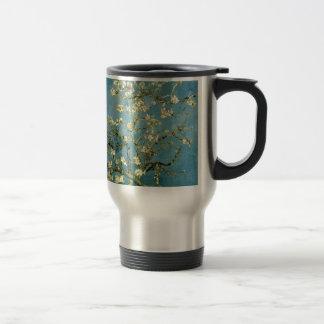 Van Gogh Blossoming Almond Tree Vintage Art Stainless Steel Travel Mug