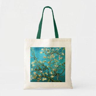 Van Gogh Blossoming Almond Tree Vintage Fine Art Bags