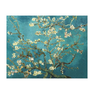 Van Gogh Blossoming Almond Tree Vintage Fine Art Stretched Canvas Prints