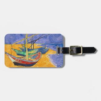 Van Gogh Boats on the Beach of Saintes-Maries Bag Tag