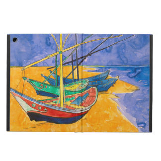 Van Gogh Boats on the Beach of Saintes-Maries iPad Air Cover