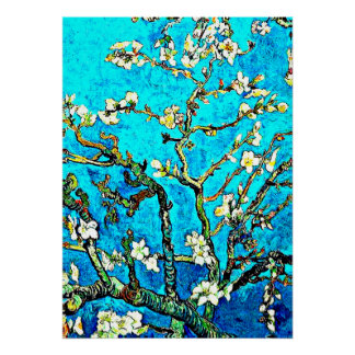 Van Gogh - Branches with Almond Blossoms Poster