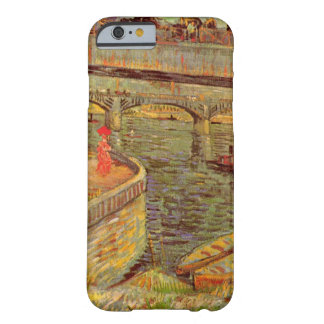 Van Gogh Bridges Across the Seine at Asnieres Barely There iPhone 6 Case