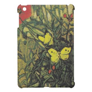 Van Gogh Butterfly Poppies Flowers Peace Destiny iPad Mini Cover