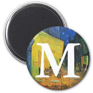 Van Gogh | Cafe Terrace at Night | 1888 6 Cm Round Magnet