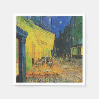 Van Gogh | Cafe Terrace at Night | 1888 Disposable Napkin