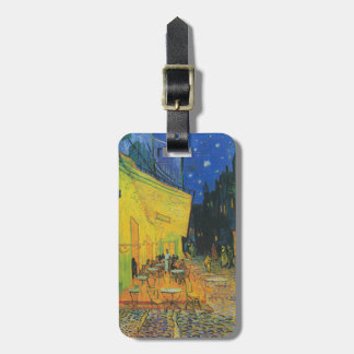 Van Gogh | Cafe Terrace at Night | 1888 Luggage Tag