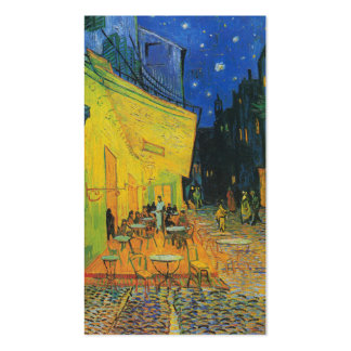 Van Gogh   Cafe Terrace at Night   1888 Pack Of Standard Business Cards